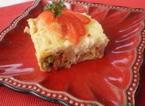 Clatite umplute cu legume si pastrama