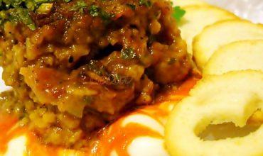 Chiftele marinate din soia