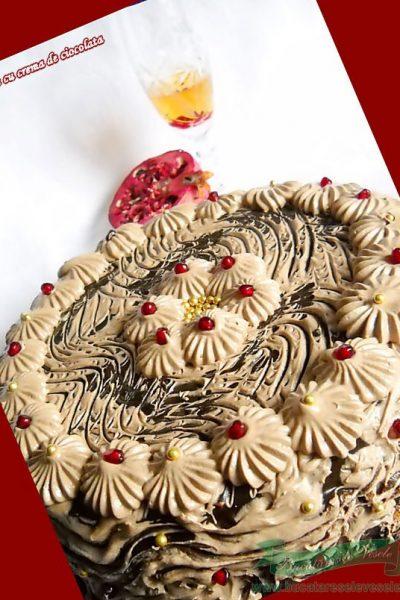 Tort cu crema de ciocolata si cafea- Tort Francisc