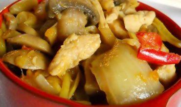 Mancare de pui cu legume- Gai Pad