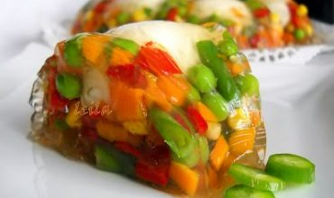 Coronita de legume in aspic