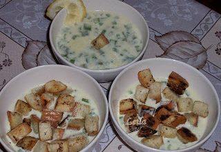 Supa Crema de Ceapa- Francia Hagymaleves- Onion Soup