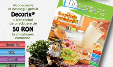 Reduceri de 50 RON la produsele Decorix