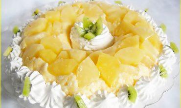 Savarina falsa cu ananas