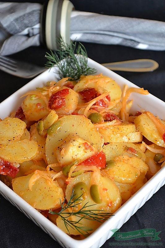 Salata de cartofi de post