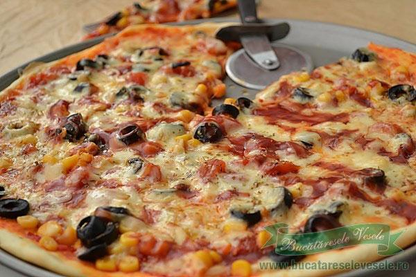 Reteta blat pizza