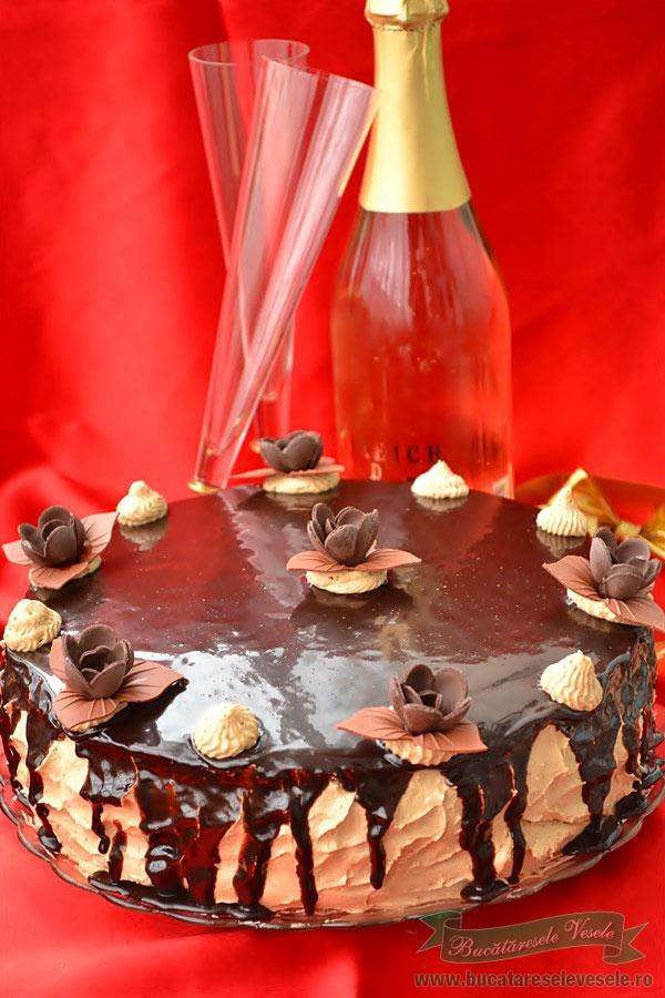 Tort cu Crema de Vanilie si Brandy