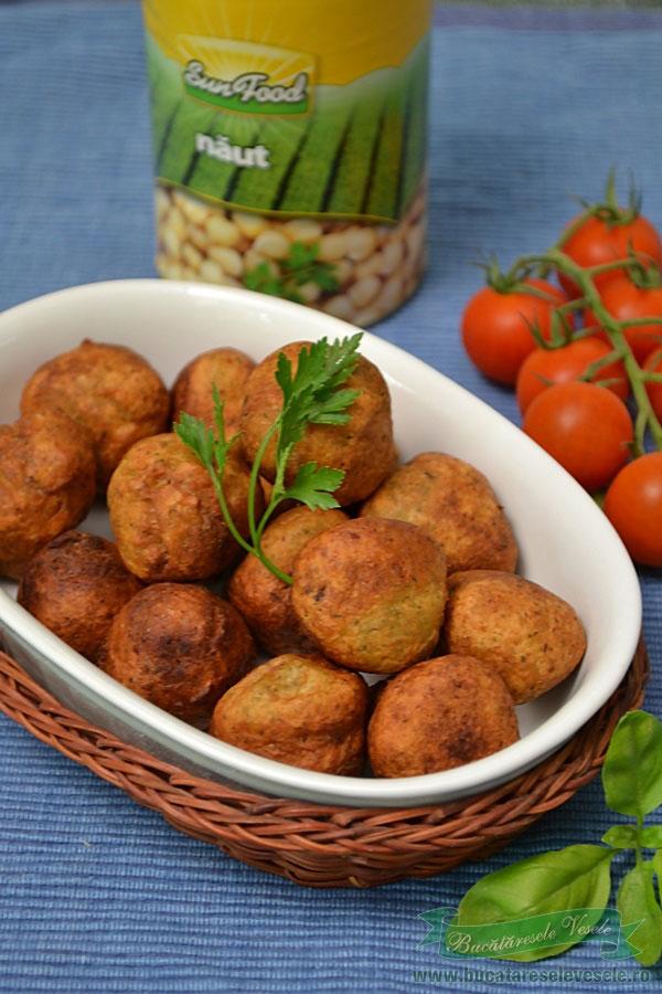 Chiftelute de naut-Falafel
