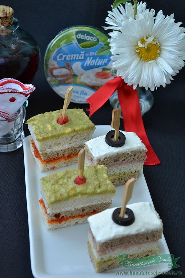 Mini Sandwichuri festive