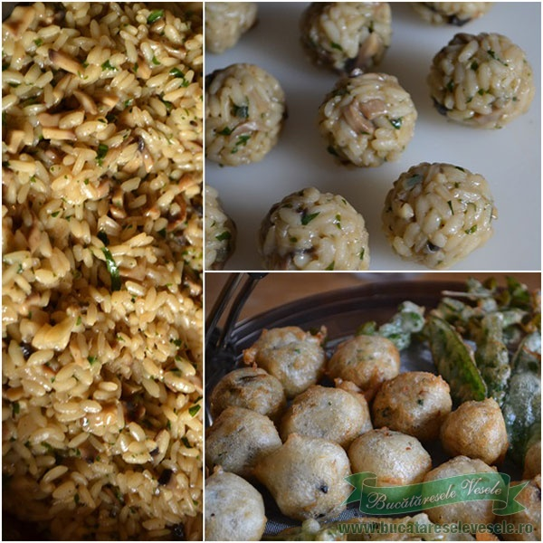 preparare-risotto-tempura-22-Medalioane de vita cu sos de gorgonzola