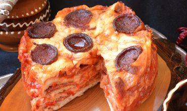 Tort Pizza la oala