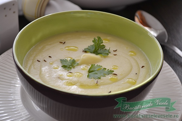 Supa crema de pastarnac la Philips Multicooker