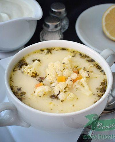 Supa de conopida cu tarhon