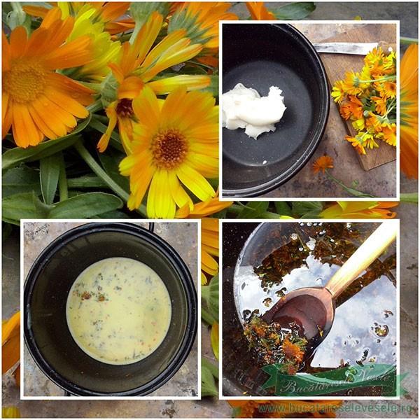 preparare Crema de Galbenele-Alifie de Filimica