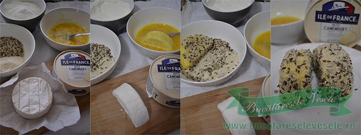 camembert-in-crusta-de-seminte-preparare