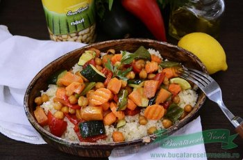 Cuscus cu legume coapte