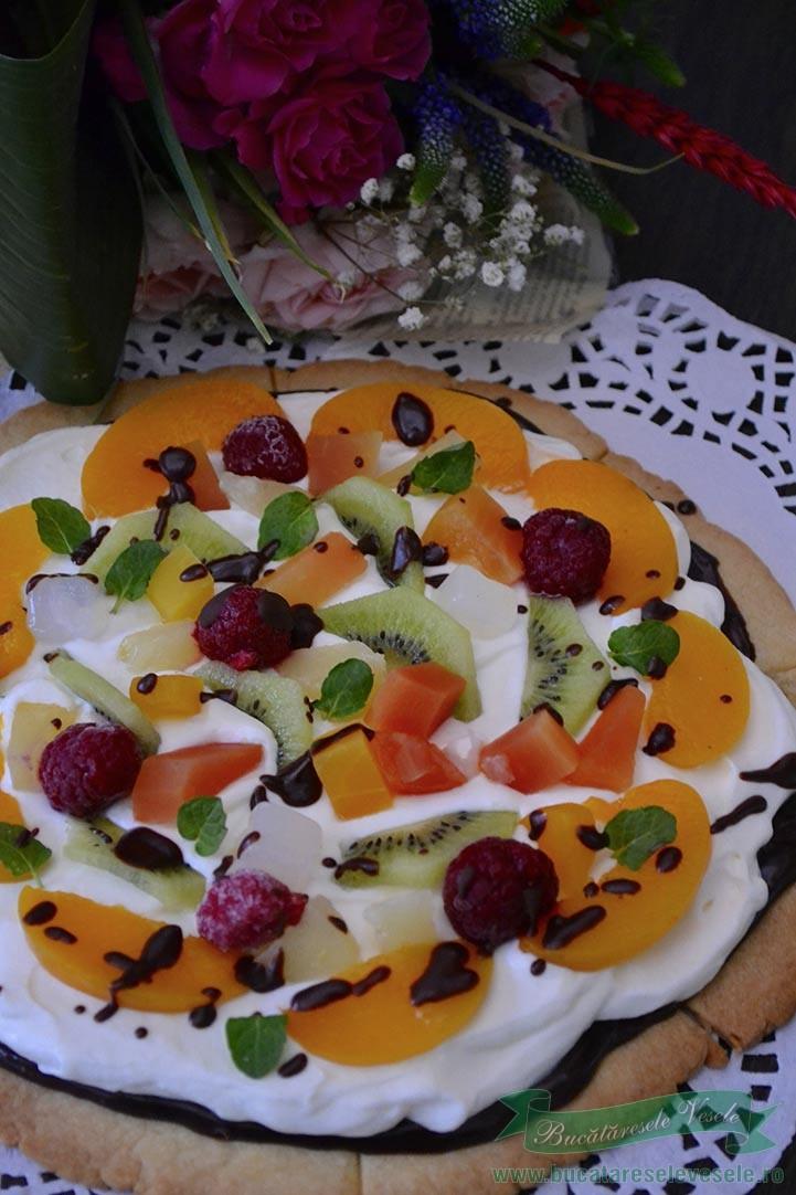 prajitura pizza dulce