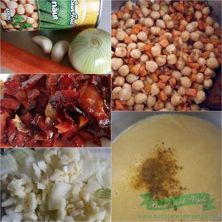 Supa de naut cu Bacon