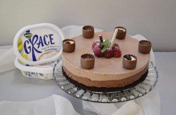 Tort duo chocolat