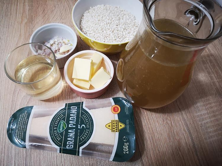 ingrediente risotto