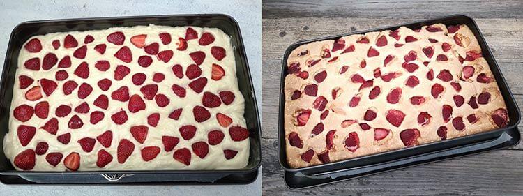 preparare-prajitura capsune