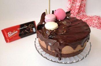 Tort brownie cu ciocolata
